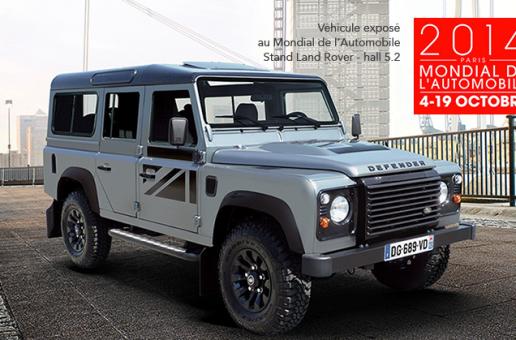 Photos : Le stand Land Rover au Mondial de Paris