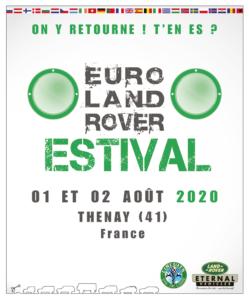 1° Euro Land Rover Estival @ Thenay