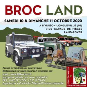 Broc'Land 2020 ANNULÉ @ D'huison Longueville (91)
