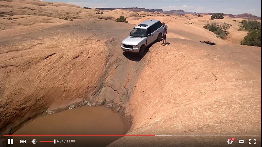 land rover desert moab