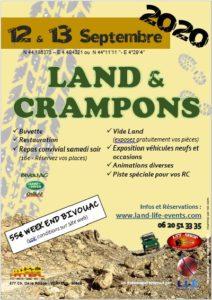 ANNULÉ - Land & Crampons 2020 @ Verfeuil