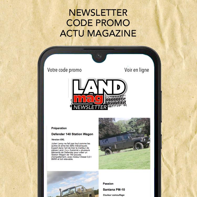 Rejoignez notre newsletter