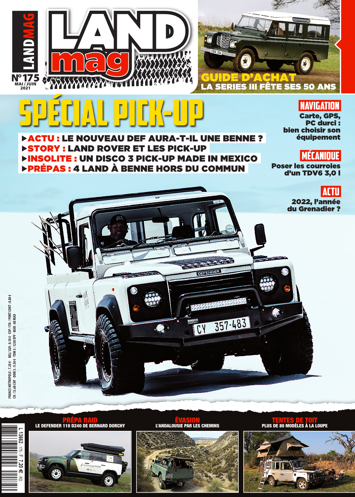 LAND MAG 175 – Le sommaire