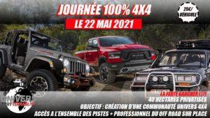 JOURNÉE 100% 4x4Univers Tout Terrain @ La Ferté Gaucher