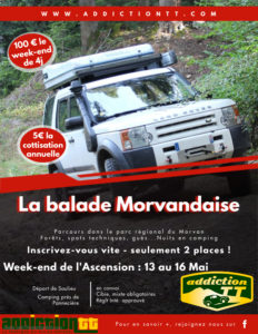 Balade Morvandaise Addiction 4x4 @ Saulieu