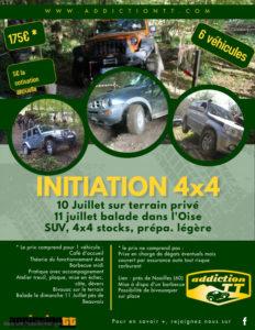 Initiation 4x4 sur terrain - Addiction 4x4 @ Noailles (60)